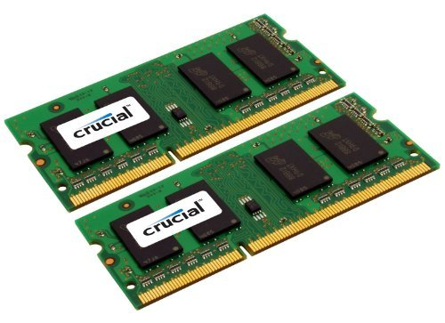 Crucial-2-GB-DDR3-1333-MTs-PC3-10600-CL9-SODIMM-204-Pin-135V15V-for-Mac-CT2G3S1339M-0