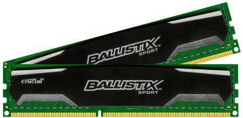 Crucial-Ballistix-Sport-2GB-Single-DDR3-1600-MTs-PC3-12800-CL9-15V-UDIMM-240-Pin-Memory-BLS2G3D1609DS1S00-0-0