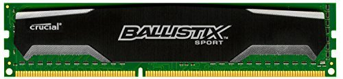 Crucial-Ballistix-Sport-2GB-Single-DDR3-1600-MTs-PC3-12800-CL9-15V-UDIMM-240-Pin-Memory-BLS2G3D1609DS1S00-0