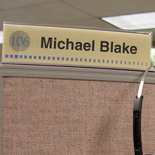 Cubicle-X-Ray-Vision-8-X-2-Double-Sided-Office-Cubicle-Nameplate-Sign-Frame-0-0