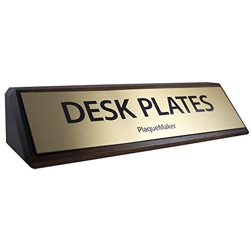 Custom-Desk-Name-Plate-Walnut-with-Gold-Plate-8-X-2-0