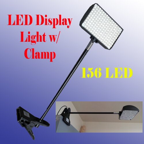 DSM-TM-LED-156-Diplsay-Light-with-Clamp-White6000K-for-Trade-Show-Las-Vegas-Approved-Ul-Approved-0
