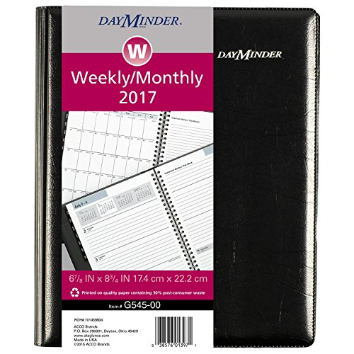 DayMinder-Weekly-Monthly-Planner-2017-Executive-6-78-x-8-34-Black-G545-00-0
