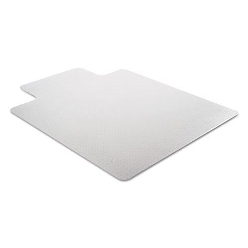 Deflecto-DuraMat-Clear-Chair-Mat-Low-Pile-Carpet-Use-Beveled-Edge-0-0