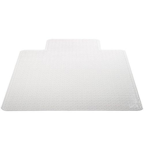 Deflecto-SuperMat-Clear-Chair-Mat-Medium-Pile-Carpet-Use-Beveled-Edge-0