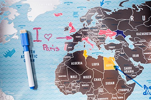 Deluxe-Scratch-Off-World-Map-Large-Places-Ive-Been-World-Travel-Map-Great-Scratchable-World-Map-Gift-For-Any-Traveller-Made-From-Flexible-Plastic-to-Last-Longer-Anniversary-Gift-by-1DEAme-0-1