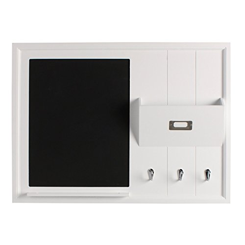 DesignOvation-Dagny-Decorative-Home-Organizer-20×26-with-Chalkboard-Mail-Holder-Key-Hooks-White-209288-0-0
