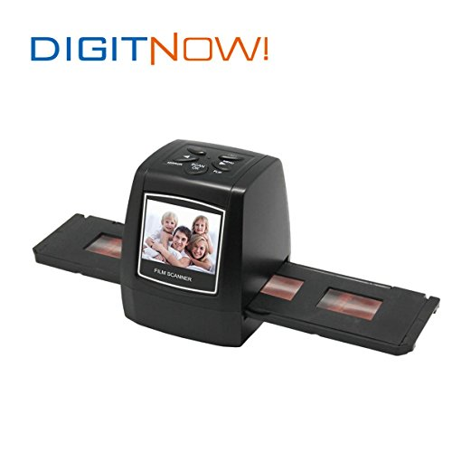 Digitnow5-Mega-Pixel-Stand-alone-FilmSlide-scanner-1800DPI-high-resolutionSupport-Various-SD-Card-includes-up-to-8GB-SDHCUSB20-interface-with-USB-Power-or-AC-Power-0