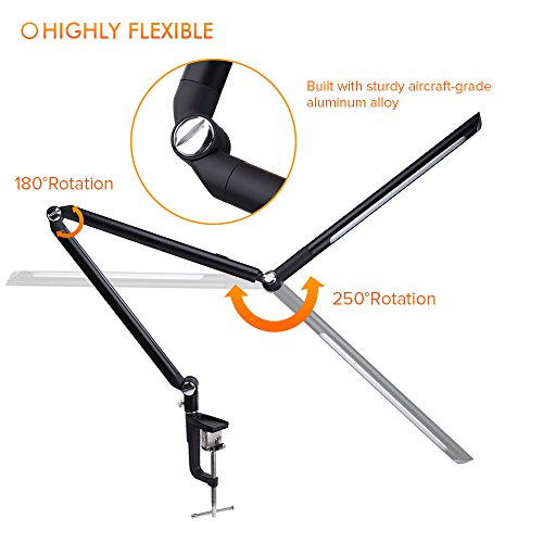 Dimmable-LED-Desk-Lamp-Kshioe-Metal-Architect-Swing-Arm-LED-Table-Lamp-with-Clamp-Eye-Care-Technology-Dimmable-3-Level-Dimmer-Task-Light-Architect-Lamp-0-0