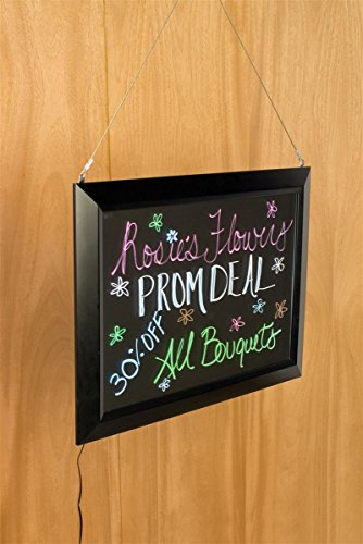 Displays2go-25-x-1825-Inches-Illuminated-Message-Writing-Board-for-Wall-with-LED-Edge-Lit-Design-13-Lighting-Effects-Black-NBLWBA2A25-0-0