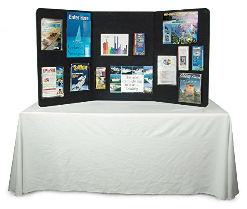 Displays2go-72-x-36-Inches-3-Panel-Tabletop-Display-Presentation-Board-No-Plastic-Edging-Black-Velcro-Receptive-Fabric-3PTTBLACK-0-0