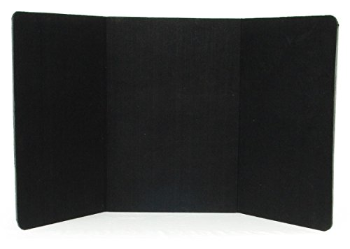 Displays2go-72-x-36-Inches-3-Panel-Tabletop-Display-Presentation-Board-No-Plastic-Edging-Black-Velcro-Receptive-Fabric-3PTTBLACK-0