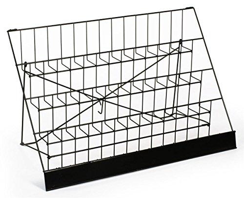 Displays2go-Countertop-Wire-Brochure-Rack-4-Tiers-with-Sign-Header-Black-Metal-WRC4T2925-0-0
