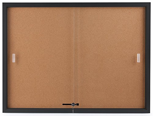Displays2go-Enclosed-Cork-Board-Sliding-Glass-Door-4-x-3-Locking-Bulletin-Board-for-Wall-CBSD43BK-0