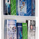 Displays2go-Hanging-Magazine-Rack-with-Adjustable-Pockets-29-x-23-inches-Clear-Acrylic-RP6CLR-0-0