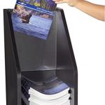 Displays2go-Literature-Floor-Stand-for-9-x-12-Inches-Catalogs-Clear-Acrylic-Header-Included-Black-Melamine-BDIF912BLK-0-0