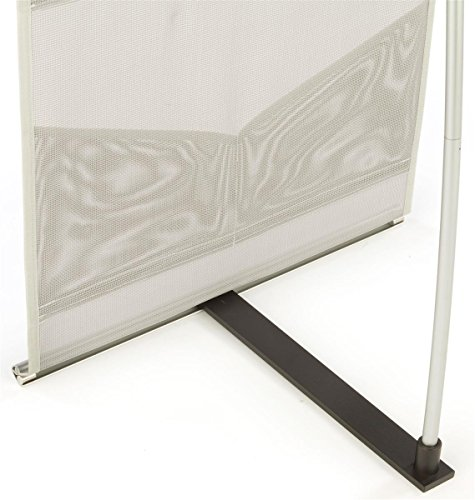 Displays2go-Magazine-Display-with-8-Pockets-Silver-Mesh-Construction-Ultra-Compact-and-Portable-54-Inch-Tall-MSQUTO8-0-1