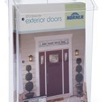 Displays2go-Outdoor-Magazine-Holder-for-Flyers-and-Papers-Take-One-Box-with-Suction-Cups-VOPD85CL-0