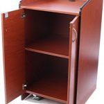 Displays2go-Speaker-Podium-with-Locking-Doors-and-Hidden-Wheels-Adjustable-Shelf-LCT4502DC-0-1