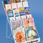Displays2go-Tabletop-Literature-Organizer-for-Magazines-Brochures-6-Tiers-White-Steel-Wire-WRC6T18WT-0