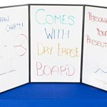 Displays2go-Tri-Fold-3-Panel-Display-Board-72-x-36-Inches-with-Black-Velcro-Receptive-Fabric-and-Write-On-Whiteboard-3PV7236BLK-0-1