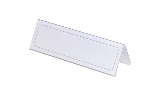 Durable-Table-Place-Name-Holder-61x210mm-Ref-8052-Pack-25-8052-0-0