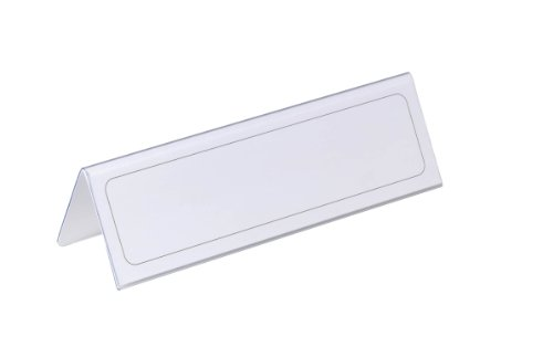 Durable-Table-Place-Name-Holder-61x210mm-Ref-8052-Pack-25-8052-0