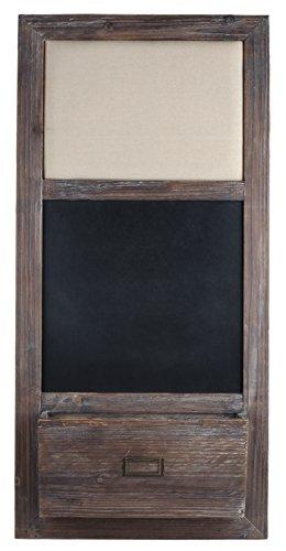 Dwellbee-Rustic-Shabby-Chic-Memo-Bulletin-Board-Chalkboard-Organizer-0-0