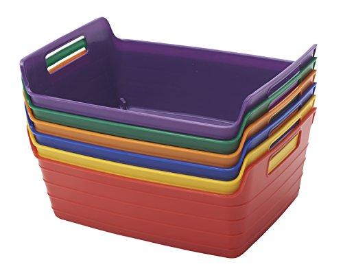 ECR4Kids-Bendi-Bin-with-Handles-Assorted-Colors-6-Pack-0