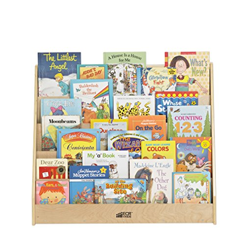 ECR4Kids-Birch-Book-Display-Stand-Natural-0-1