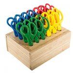 ECR4Kids-Cutting-Edge-Classroom-Scissor-Set-with-Hardwood-Rack-0