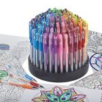 ECR4Kids-GelWriter-Multicolor-Gel-Pens-in-Rotating-Stand-100-Count-0-0