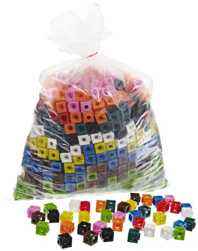 ETA-hand2mind-MathLink-Cubes-Set-of-1000-0