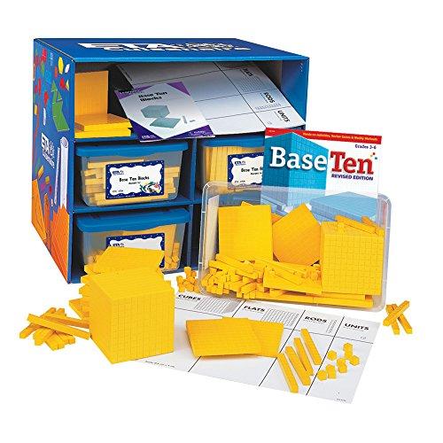 ETA-hand2mind-Yellow-Plastic-Base-Ten-Blocks-Class-Set-0