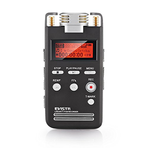EVISTR-Portable-Digital-Recorder-Stereo-HD-Recording-8GB-Voice-Activated-Recorder-Pro-Dynamic-Noise-Reduction-with-MP3-Player-Dual-Microphone-1536Kbps-PCM-Recorder-Dictaphone-0