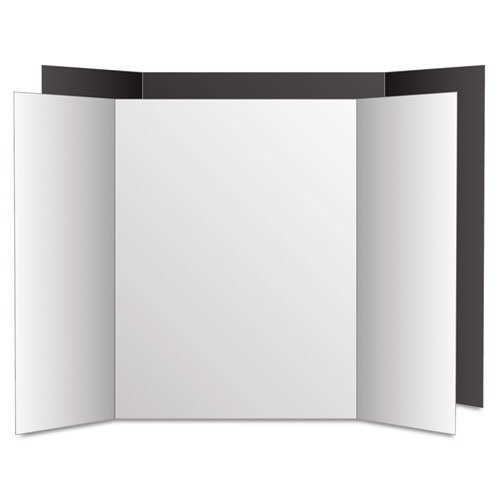 Eco-Brites-Too-Cool-Tri-Fold-Poster-Board-36-x-48-BlackWhite-6PK-0