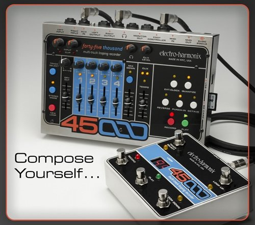 Electro-Harmonix-45000-Guitar-Looper-Effect-Pedal-0-0