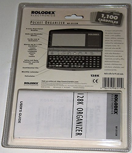 Electronic-Rolodex-128K-Flash-Memory-POCKET-Organizer-Model-RF-31128-Approximate-Dimensions-3-X-5-12-0-0