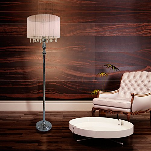 Elegant-Designs-LF1002-BLK-Trendy-Sheer-Floor-Lamp-with-Hanging-Crystals-0-0