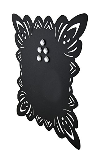 Elegant-Framed-Black-Metal-Magnetic-Memo-Board-0-0