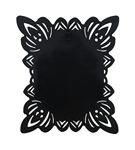 Elegant-Framed-Black-Metal-Magnetic-Memo-Board-0-1