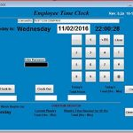 Employee-Time-Clock-Software-Up-to-100-Employees-Windows-XPVista78-or-10-No-Monthly-Fees-Touch-Screen-Ready-No-Punch-Cards-needed-90-DAY-RETURN-GUARANTEE-0