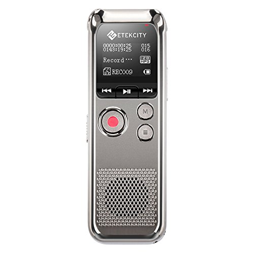 Etekcity-8-GB-Digital-Rechargeable-Voice-Recorder-with-OLED-Display-3-Microphones-HD-Stereo-Recording-and-Noise-Reducation-Function-Elegant-Metal-0