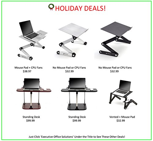 Executive Office Solutions Portable Adjustable Aluminum