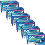 Expo-Low-Odor-Dry-Erase-Markers-Chisel-Tip-Black-Case-of-6-Packs-of-12-Markers-0