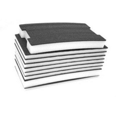 FastCap-FOAM57MMB-W-57-MM-Thick-2-x-4-Kaizen-WhiteBlack-Foam-w-18-Layered-0