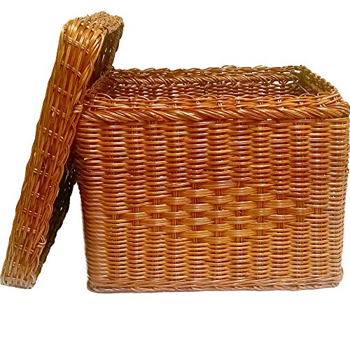 File-Box-Wicker-w-file-rods-lid-Letter-size-Natural-13H-x-12W-x-15D-0
