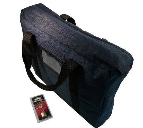 Fire-Resistant-Briefcase-Style-Bag-with-Lock-Navy-Blue-0