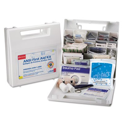 First-Aid-Kit-for-50-People-195-Pieces-OSHAANSI-Compliant-Plastic-Case-0