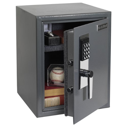 First-Alert-2077DF-Anti-Theft-Safe-with-Digital-Lock-12-Cubic-Foot-Gray-0-0